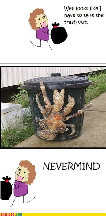 best of week,crab,crying,nevermind,scared,the internets,trask