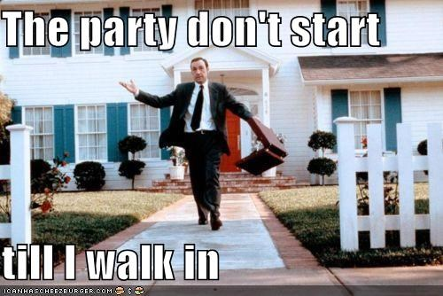 Ain't No Party Like a Kevin Spacey Party