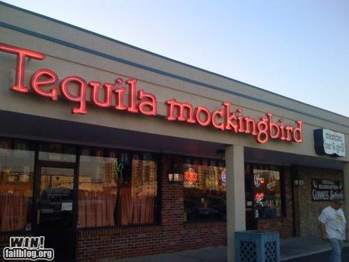 alcohol,business,literature,name,pun,store,tequila
