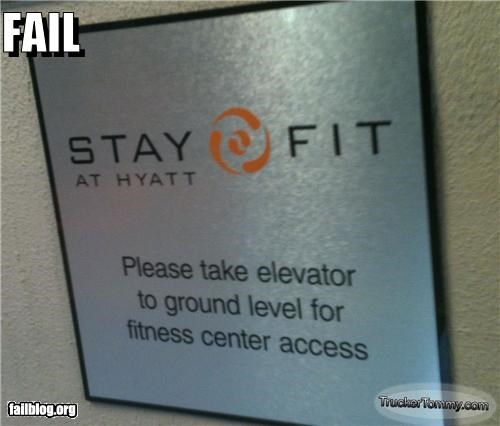 Fitness Center Access FAIL