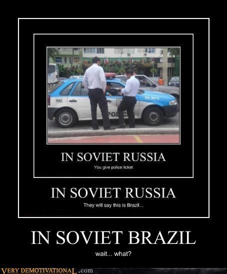 IN SOVIET BRAZIL