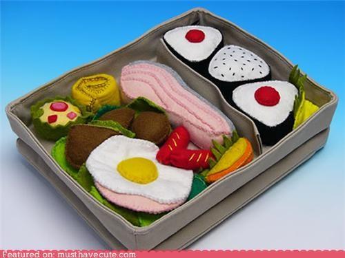 bento,case,felt,food,ipad,sushi
