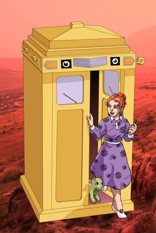 Magic School TARDIS of the Day