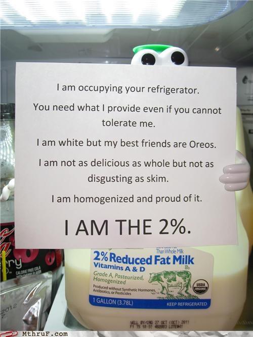 #Occupy the Fridge