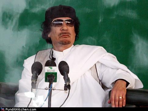 Moammar Gadhafi Reported Dead