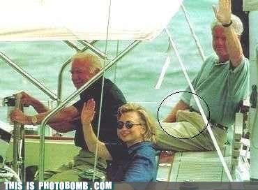 Classic: Bill Clinton Self-Bombing