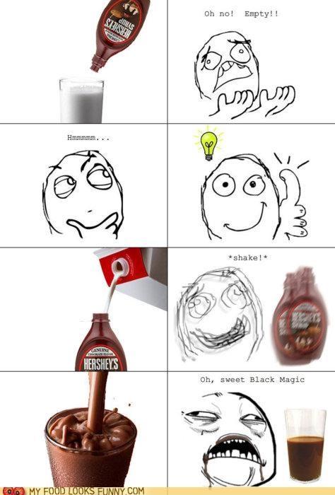 chocolate milk,comic,crisis,genius,solution