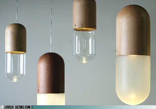 capsules,decor,lamps,lights,pills