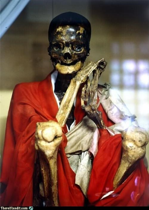 Historical Thursday: Sokushinbutsu - The Art of Self-Mummification