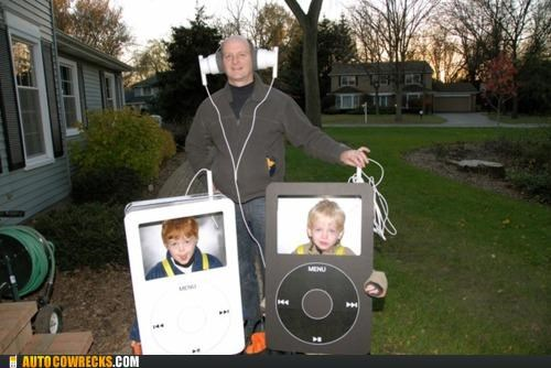 costume,Hall of Fame,halloween,ipod,kids,parenting