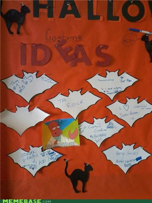 bats,costume,dorms,halloween,ideas,the rock,Zoidberg
