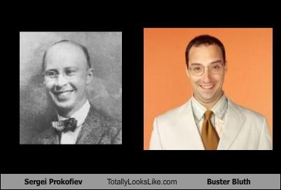 Sergei Prokofiev Totally Looks Like Buster Bluth