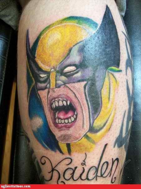 Wolverine Needs to Heel Those TEETH