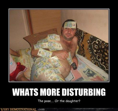WHATS MORE DISTURBING