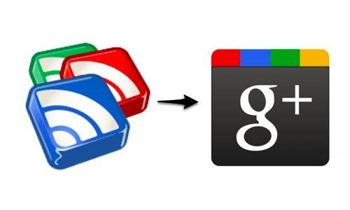 Google Reader Google+ Integration of the Day