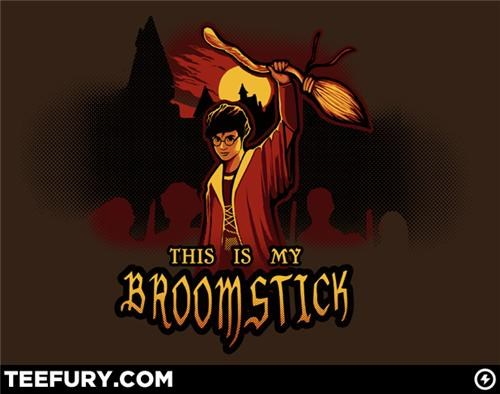 Harry Potter Meets Evil Dead Tee of the Day