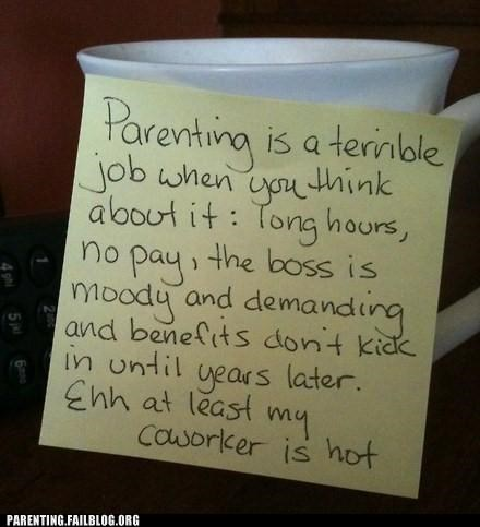 analogy,employment,Hall of Fame,job,parenting,Parenting Fail,promotion,raise,work