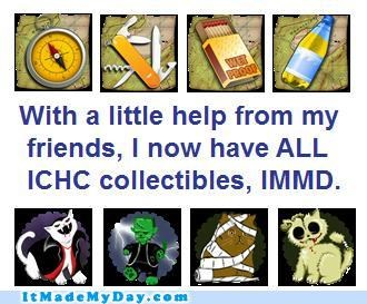 collectibles,friends,help,ichc,story,win