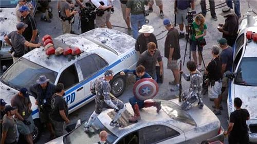 Avengers Scenes Shot on an iPhone of the Day