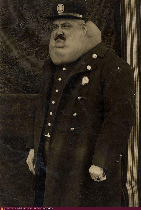 eww,lumpy,neck,officer,wtf