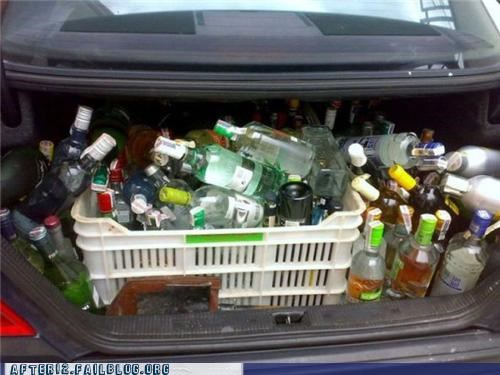 Okay, a Couple More Carloads, and We Should Have Enough for the Party