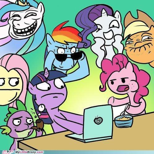 Ponies Visit Memebase 0-0