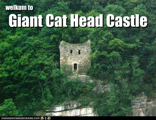 Giant Cat Head Castle