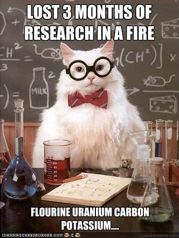 angry,chemistry cat,fires,fuuu,memecats,Memes,research,swearing