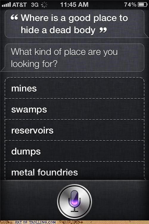 Thanks Siri, Now Where Can I Buy A Shovel?