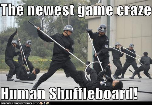 fun,game,games,human shuffleboard,Pundit Kitchen,shuffleboard,wtf
