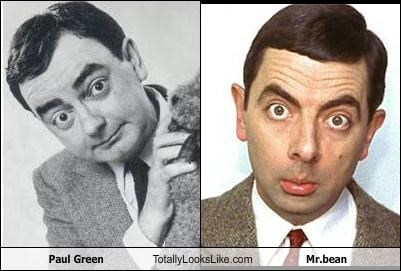 Paul Green Totally Looks Like Mr.bean