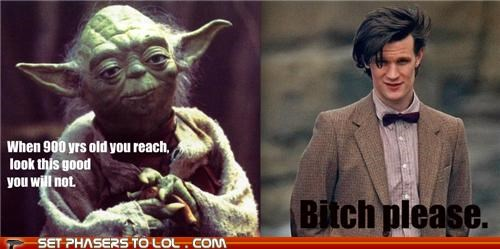 900 years old,doctor who,frank oz,Matt Smith,the doctor,timelord,yoda