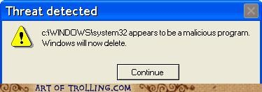 Error Message From Hell