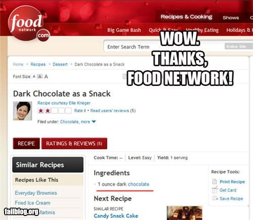 Food Network FAIL