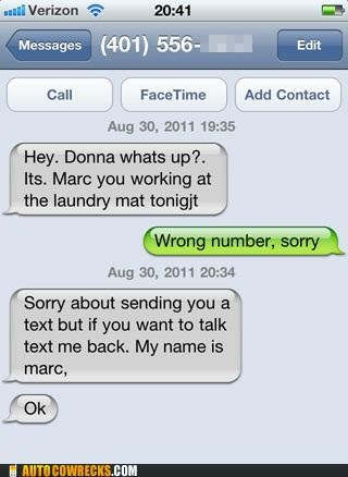 Marc Is Desperate for Anyone at This Point