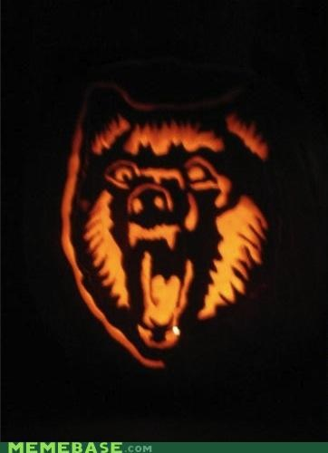 "Insanity Wolf Pumpkin Puts the ""Gore"" in Gourds"