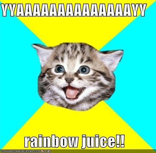 YYAAAAAAAAAAAAAAYY  rainbow juice!!