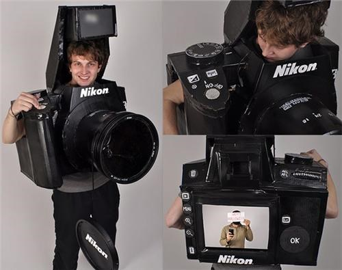 Fully-Functional Camera Costume of the Day