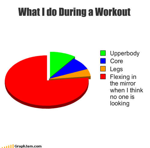What I do During a Workout