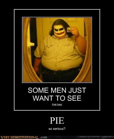 fat kid,hilarious,joker,pie