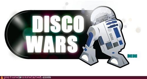 disco,disco ball,r2d2,star wars,wtf
