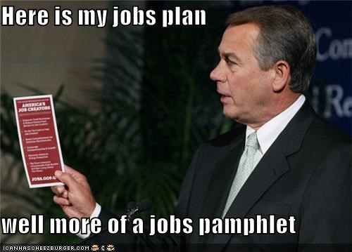 jobs,john boehner,political pictures