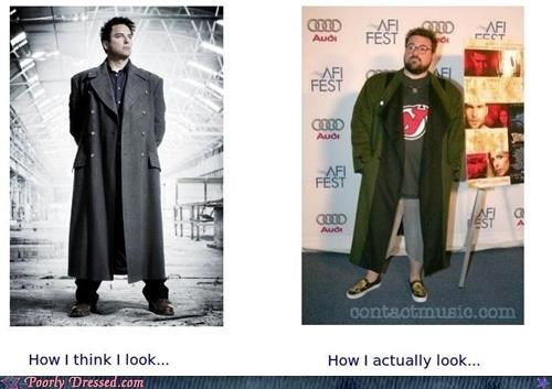 kevin smith,not as cool as you think,trench coat