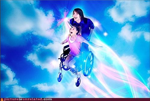unicorn,wheelchair,wtf