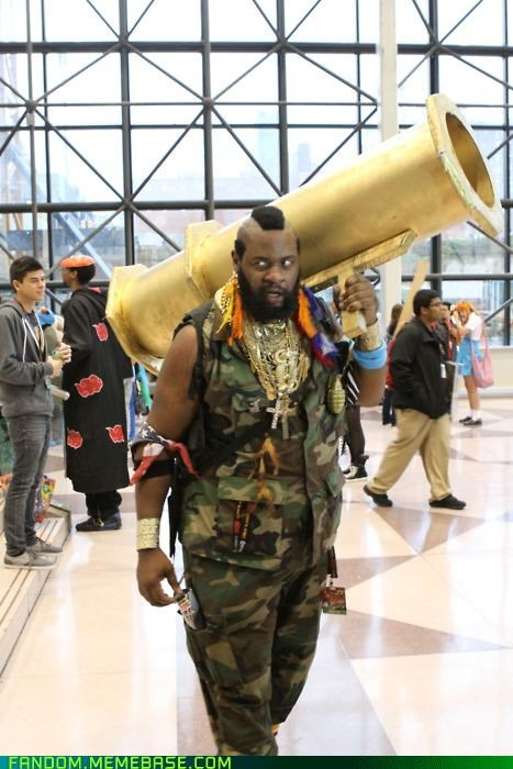 as seen on tv,BA Baracas,comicon,cosplay,i-3-polls-6,I pity the fool,mr t,new york,NYCC,So Conventional,the a-team