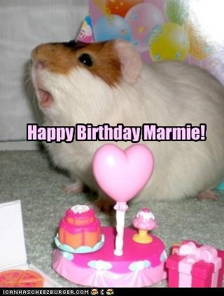 Happy Birthday Marmie!