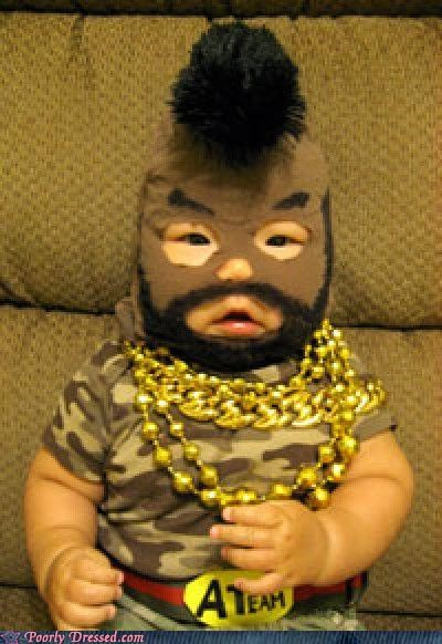 Baby Pities the Fool