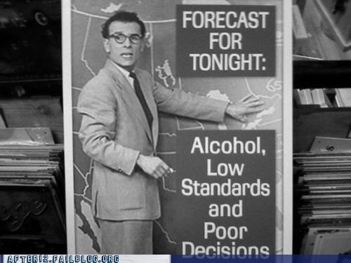 alcohol,bad decision,drinking,forecast,here it comes,jim,weather