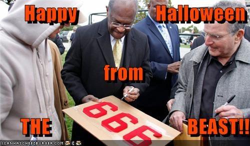 999 plan,devil,halloween,herman cain,political pictures