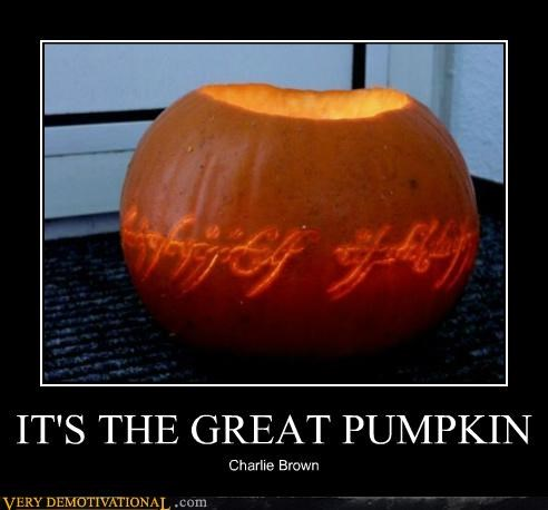 IT'S THE GREAT PUMPKIN
